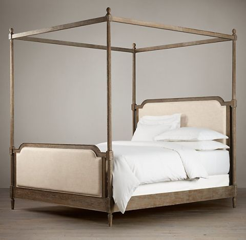 restoration hardware vienne french four poster bed