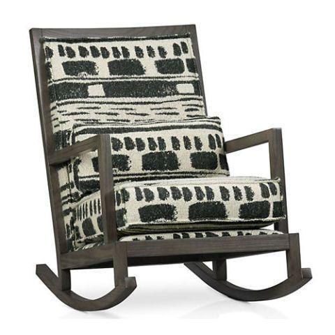 crate barrel Jeremiah rocking chair