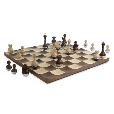 Uncommon Goods Wobble Chess Set