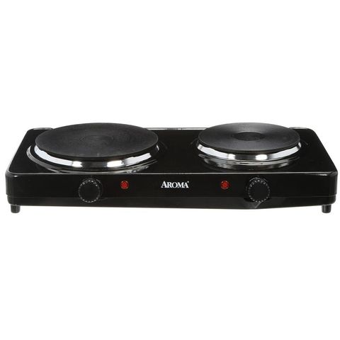 Aroma Double Burner Cast Hot Plate