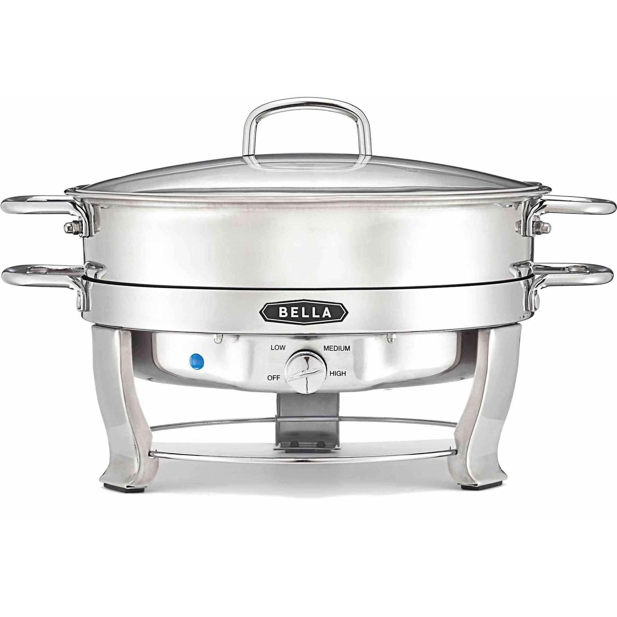 Bella Stainless Steel Electric Chafing Dish