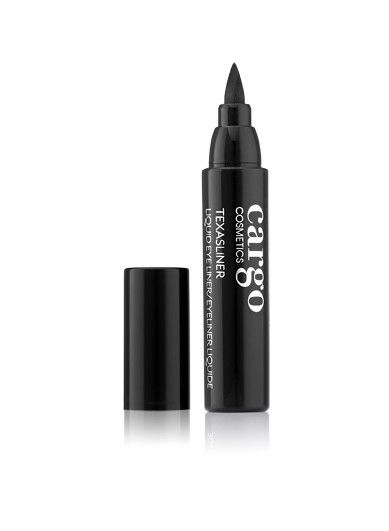 "<p><em><strong>$20, <a href=""http://www.cargocosmetics.com/texasliner-liquid-eye-liner.html"" target=""_blank"">cargocosmetics.com</a></strong></em></p><p>You know what they say: ""Everything's bigger in Texas."" And Cargo's chunky liner is obviously no exception. Use the precision tip for sleeker lines, or opt for more dramatic eye art by turning the oversized felt-tip on its side and gently dragging across your lid.</p>"