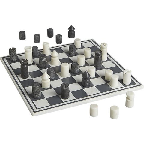 cb2 marble chess game