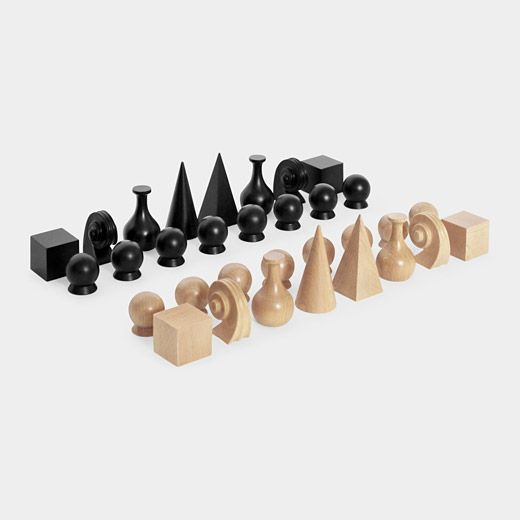 moma man ray chess set