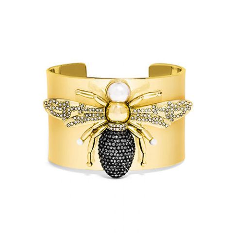 baublebar olivia palermo bee cuff in gold