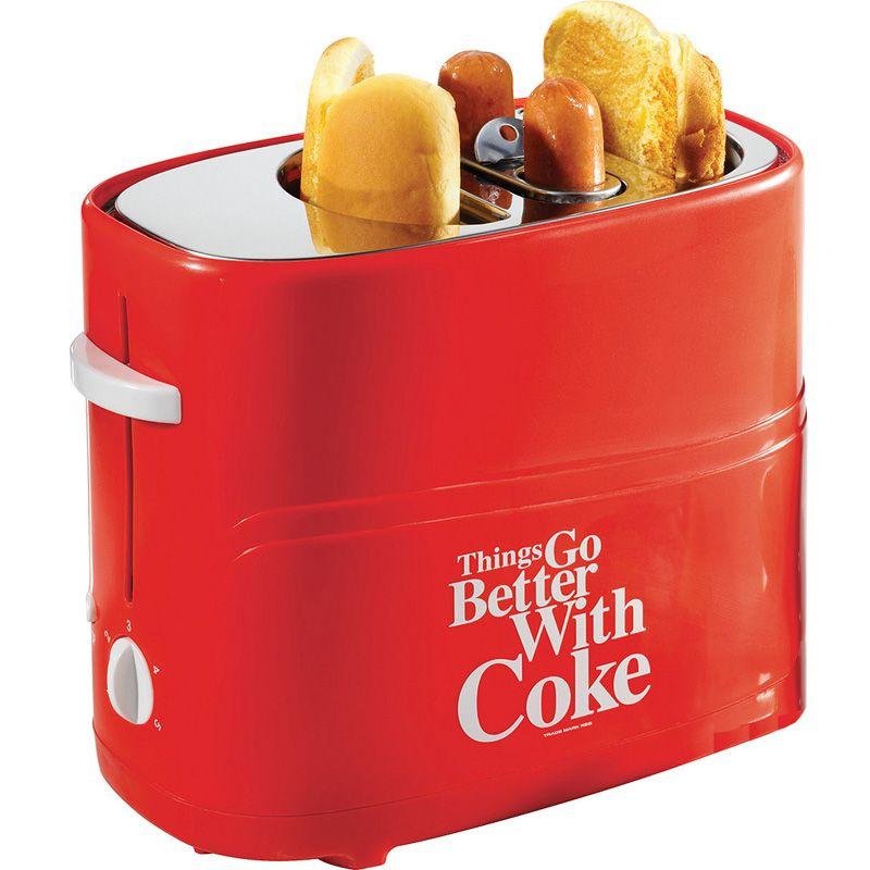 Coca Cola Series Pop Up Hot Dog Toaster