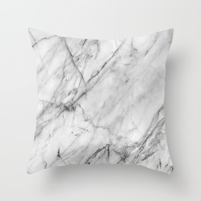 society6 marble jmb pillows