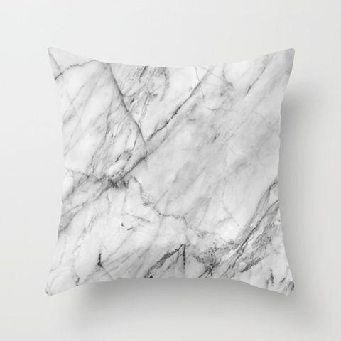 society6 marble jmb pillows