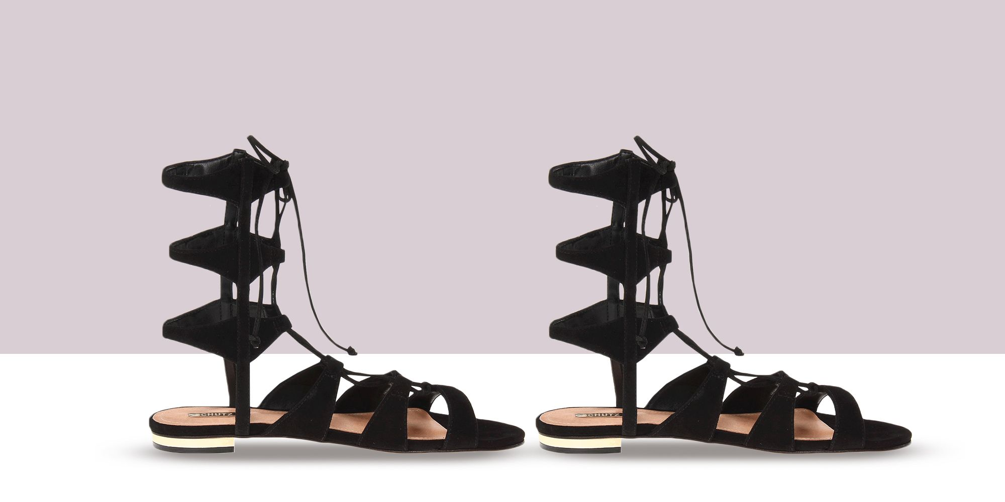 Lace Up Gladiator Sandals and Heels