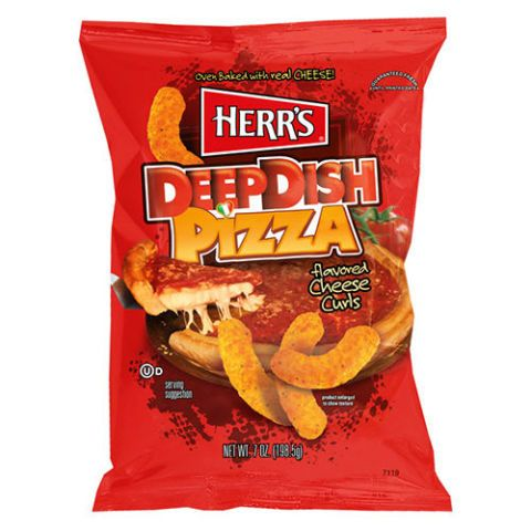 Herr's Deep Dish Pizza Cheese Curls