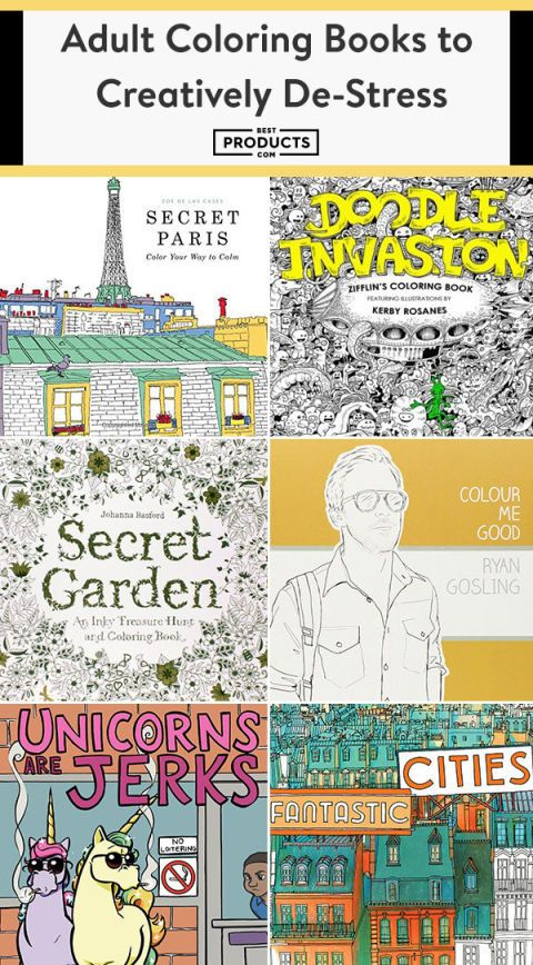 18 Best Adult Coloring Books In 2018