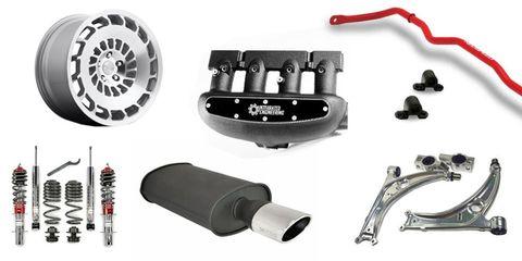 Volkswagen performance parts