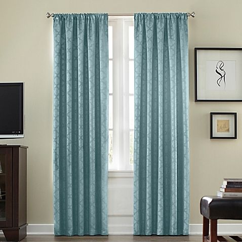 Bedbathbeyond Athena Rod Pocket Blackout Window Curtain Panel