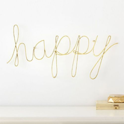 pbteen maybaby wire happy wall decor