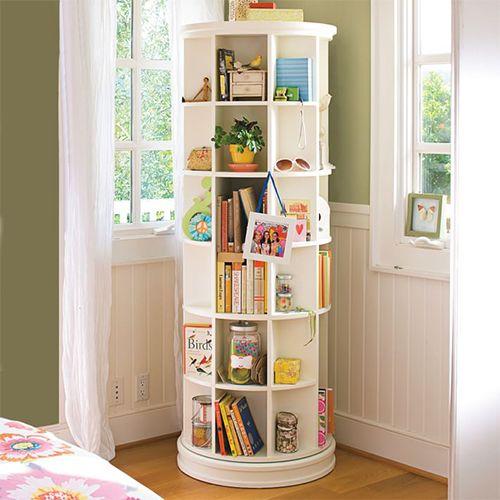 PBteen Revolving Bookcase