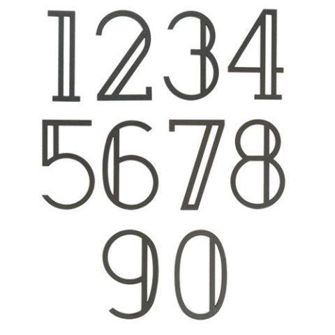 rejuvenation serif house numbers