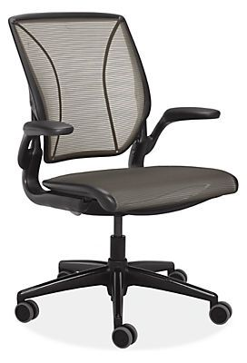"<p><strong><em>$779, </em></strong><strong><em><a href=""http://www.roomandboard.com/catalog/office/office-chairs/diffrient-world-office-chairs-in-black?Camp=gshop_Office+Chairs&gclid=Cj0KEQiArou2BRDcoN_c6NDI3oMBEiQANeix5t0HYOPx4t90dad2UYNyKXfGXEystcbjJHr16UTiiyIaAtR08P8HAQ"" target=""_blank"">roomandboard.com</a></em><a href=""http://www.roomandboard.com/catalog/office/office-chairs/diffrient-world-office-chairs-in-black?Camp=gshop_Office+Chairs&gclid=Cj0KEQiArou2BRDcoN_c6NDI3oMBEiQANeix5t0HYOPx4t90dad2UYNyKXfGXEystcbjJHr16UTiiyIaAtR08P8HAQ"" target=""_blank""></a></strong><a href=""http://www.roomandboard.com/catalog/office/office-chairs/diffrient-world-office-chairs-in-black?Camp=gshop_Office+Chairs&gclid=Cj0KEQiArou2BRDcoN_c6NDI3oMBEiQANeix5t0HYOPx4t90dad2UYNyKXfGXEystcbjJHr16UTiiyIaAtR08P8HAQ"" target=""_blank""></a></p><p>No knobs and levers on this office seat — its intuitive design adjusts the recline of the chair as you sit down to work and make yourself comfortable. Its back, lined with form-sensing mesh, gives you contoured support to reduce the strain from hours of sitting.</p>"