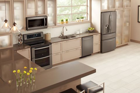 Kitchen Designs With Black Stainless Liances Design Ideas