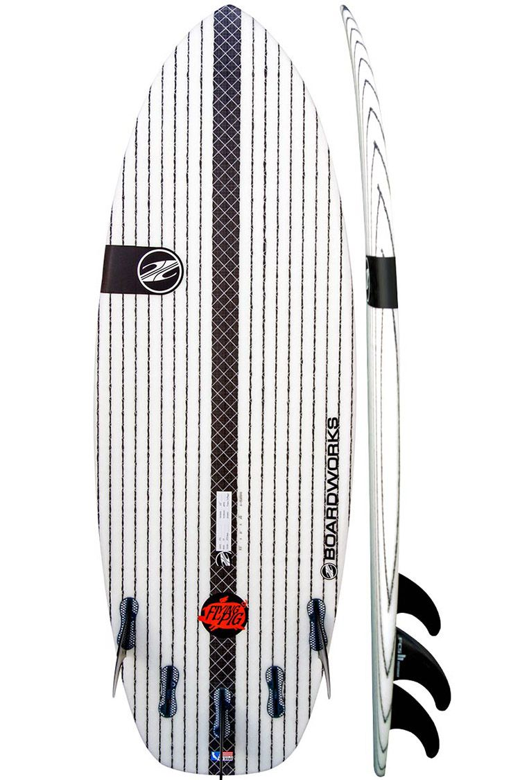 "<p><strong><em>from $530, </em></strong><strong><em><a href=""http://boardworkssurf.com/s/flying-pig/"" target=""_blank"">boardworkssurf.com</a></em></strong></p><p><strong>Best for a Responsive Ride</strong></p><p>Small package, big performance: That's what you get with this board. Thanks to the company's Krypto-Flex technology, this little guy is flexible, but can still take on impact, all while being super lightweight. </p><p><strong>More:</strong> <a href=""http://www.bestproducts.com/tech/electronics/news/g858/best-waterproof-cameras/"" target=""_blank"">Waterproof Cameras to Capture Your Aquatic Adventures</a></p>"