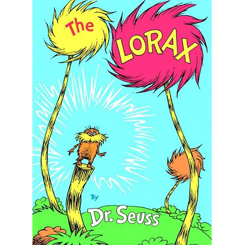 Dr Seuss The Lorax Book