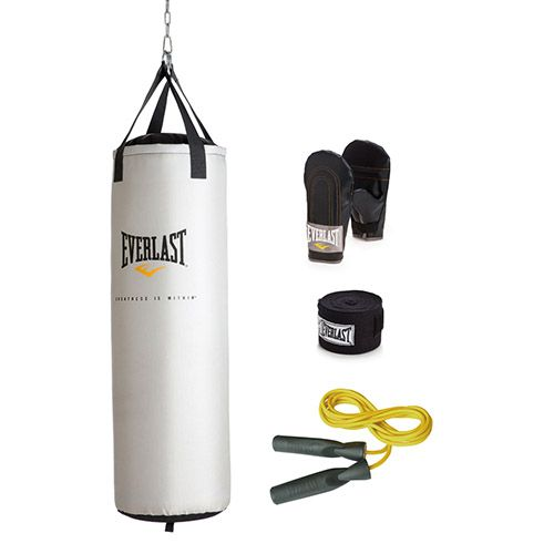 Everlast 81-Pound Platinum Heavy Bag Kit