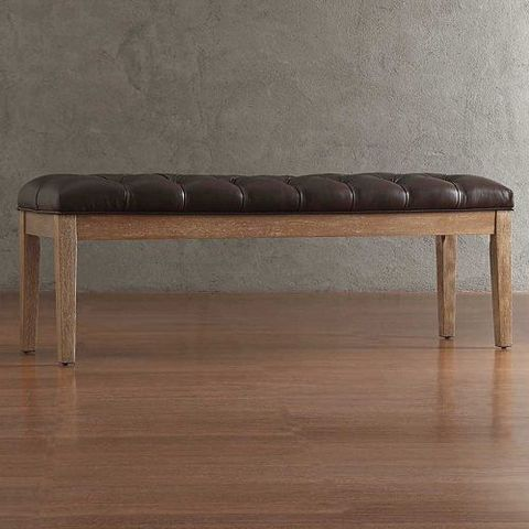 kohls homevance manda tufted dining bench