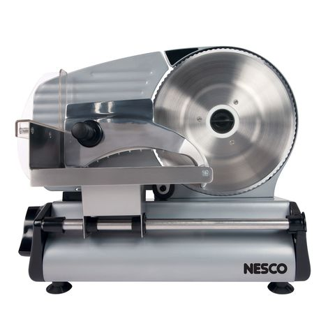 "<p><strong><em>$92, <a href=""https://www.allmodern.com/Nesco-180-Watt-Quick-Release-Food-Slicer-FS-250-L1041-K~NSO1131.html?refid=GX46109959636-NSO1131&device=c&ptid=101840274300&gclid=Cj0KEQiAxrW2BRCFidKbqKyq1YEBEiQAnMDWxkQ5AHQB-ctnV6806Z5KUmvdVacGR_dirWJs2dKraUIaArl-8P8HAQ "" target=""_blank"">allmodern.com</a> </em></strong></p><p><strong>Best for Speed<br></strong></p><p>If you're looking to cut cheese, a watt power of 130 or more is recommended, so this Nesco device with a 180-watt motor does the trick. In addition to cheese, this slicer is ideal for cutting meat, veggies, bread, and fruit. Consumers say it is both durable and easy-to-clean, two important attributes! </p>"