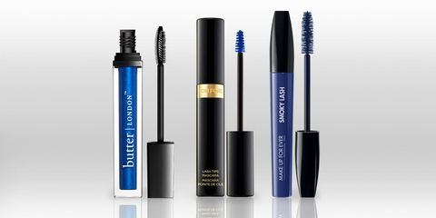 0c31b063519 9 Blue Mascara Shades to Switch It Up From Black and Brown