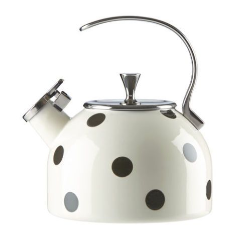 katespade deco dot tea kettle