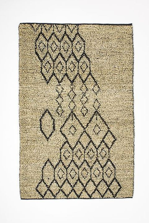 West Elm Geo Loop Jute Rug