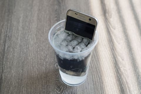 Samsung Galaxy S7 ice