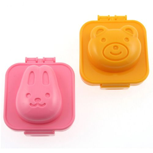 """<p><em><strong>$4 per set of 2, <a href=""""http://www.amazon.com/Kotobuki-Plastic-Mold-Rabbit-Bear/dp/B002TZ04J6"""" target=""""_blank"""">amazon.com</a></strong></em></p><p>These egg molds will press a smiling bear or rabbit face into a freshly hard-boiled egg. They're the right size for either you or your kids to use, and chances are good kids will actually <em>want </em>to eat their protein if it comes in a container this cute.</p><p><strong>More:</strong> <a href=""""http://www.bestproducts.com/eats/food/g133/craziest-oreo-flavors-ever-made/"""" target=""""_blank"""">Wacky Oreo Flavors to Check Off the List</a><span class=""""redactor-invisible-space""""><br></span></p>"""
