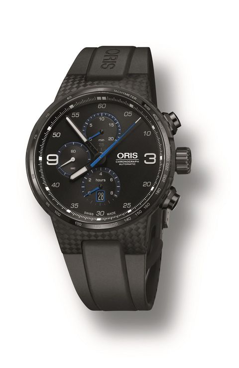 "<p><strong><em>$4,219, </em></strong><strong><em><a href=""http://www.oris.ch/en/press/oris-williams-chronograph-carbon-fibre-extreme"" target=""_blank"">oris.ch</a></em><a href=""http://www.oris.ch/en/press/oris-williams-chronograph-carbon-fibre-extreme"" target=""_blank""></a></strong><a href=""http://www.oris.ch/en/press/oris-williams-chronograph-carbon-fibre-extreme"" target=""_blank""></a></p><p>Given Oris' longstanding relationship with the Williams F1 team, it's of little surprise that a carbon fiber watch case was going to wind up on their to-do list eventually. Their current <a href=""http://www.tourneau.com/watches/oris/tt1-williams-f1-team-day-date-735.7651.4765.ls-ORI0104542.html"" target=""_blank"">TT1 Williams Day Date model</a> is a touch more under-the-radar,  but the lightweight carbon piece is still properly understated with its subtle blue accents. According to Oris, its lightweight case weighs little over 7 grams, making it supremely light on the wrist. Given its level of technical prowess, its sticker price seems a relative bargain when compared to the competition. </p><p><strong>More: </strong><a href=""http://www.bestproducts.com/mens-style/g1330/baselworld-cool-watches-for-men/"" target=""_blank"">The Coolest New Men's Watches Previewed At Baselworld 2016</a><br></p>"