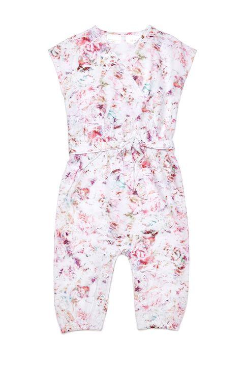 Kardashian Kids Girls Floral Jumpsuit