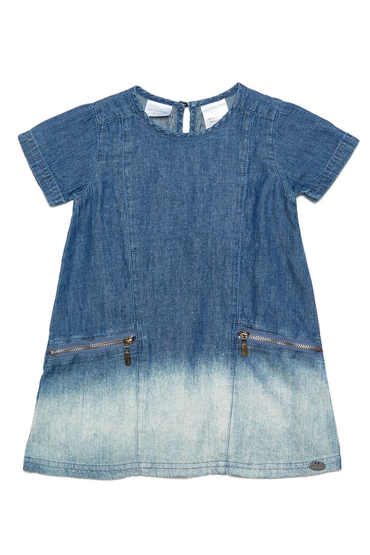 Kardashian Kids Girls Denim Shift Dress