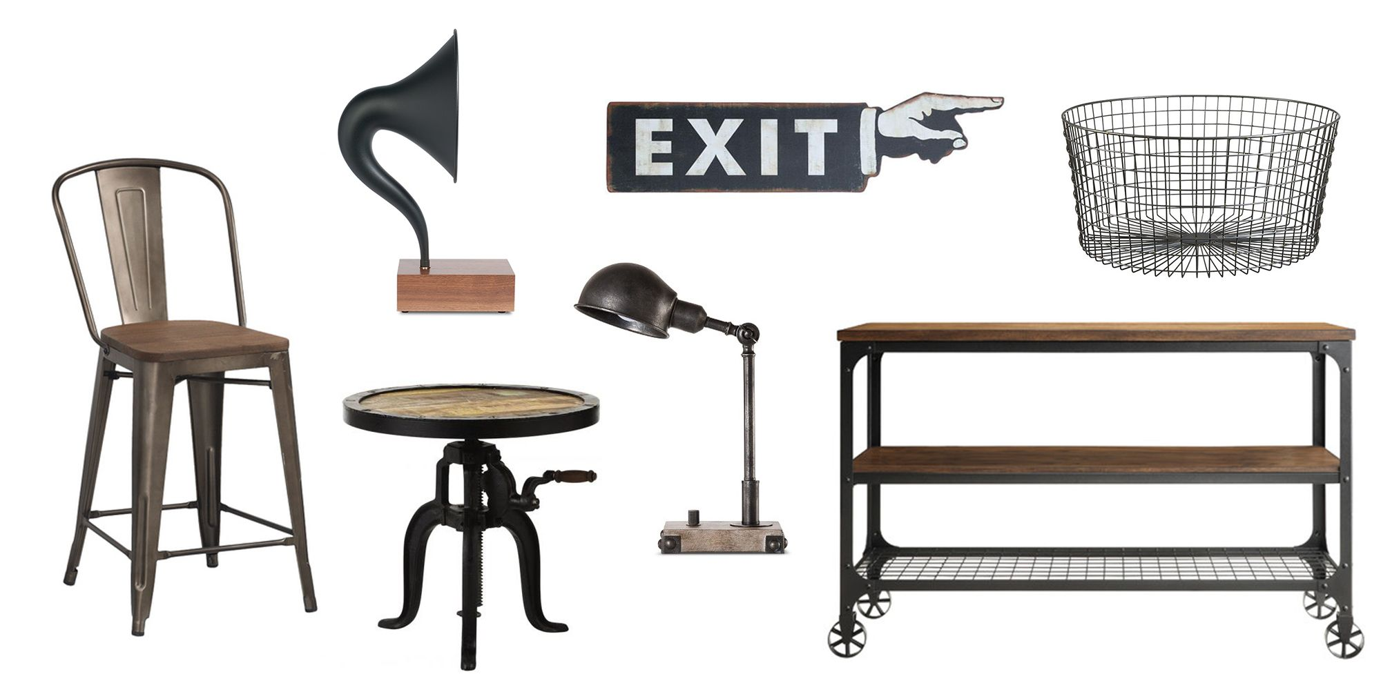 12 Best Industrial Decor and Furniture of 2018 - Ideas for ...