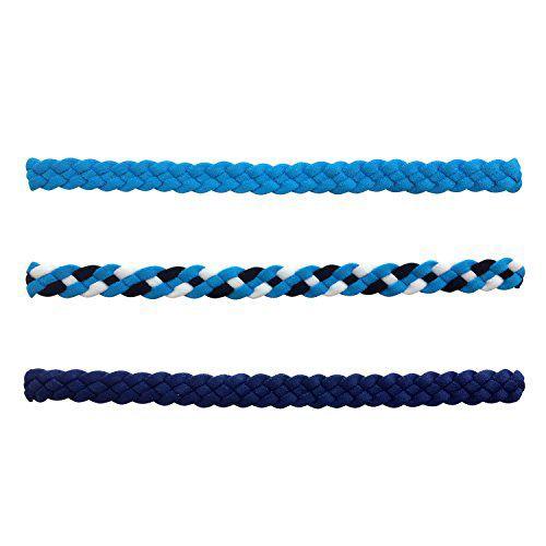 NewAge Headband Multi-Color 3-Pack Sports Headbands