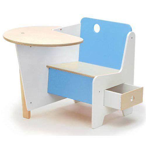 offi doodle drawer desk blue