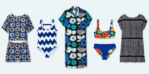 Target x Marimekko collaboration womens swim