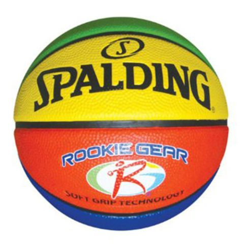 spalding soft grip rookie gear multi colored kids basketball