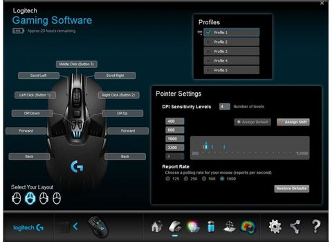 Logitech Gaming Software Not Saving Settings