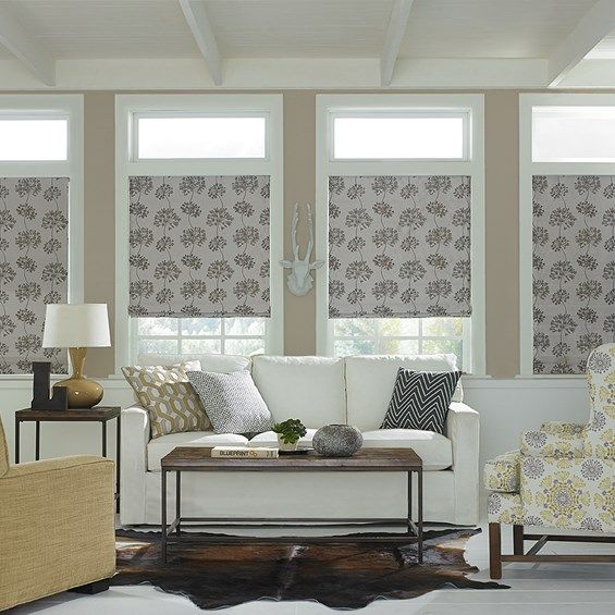 Hampton Bay Premier Roman Shade