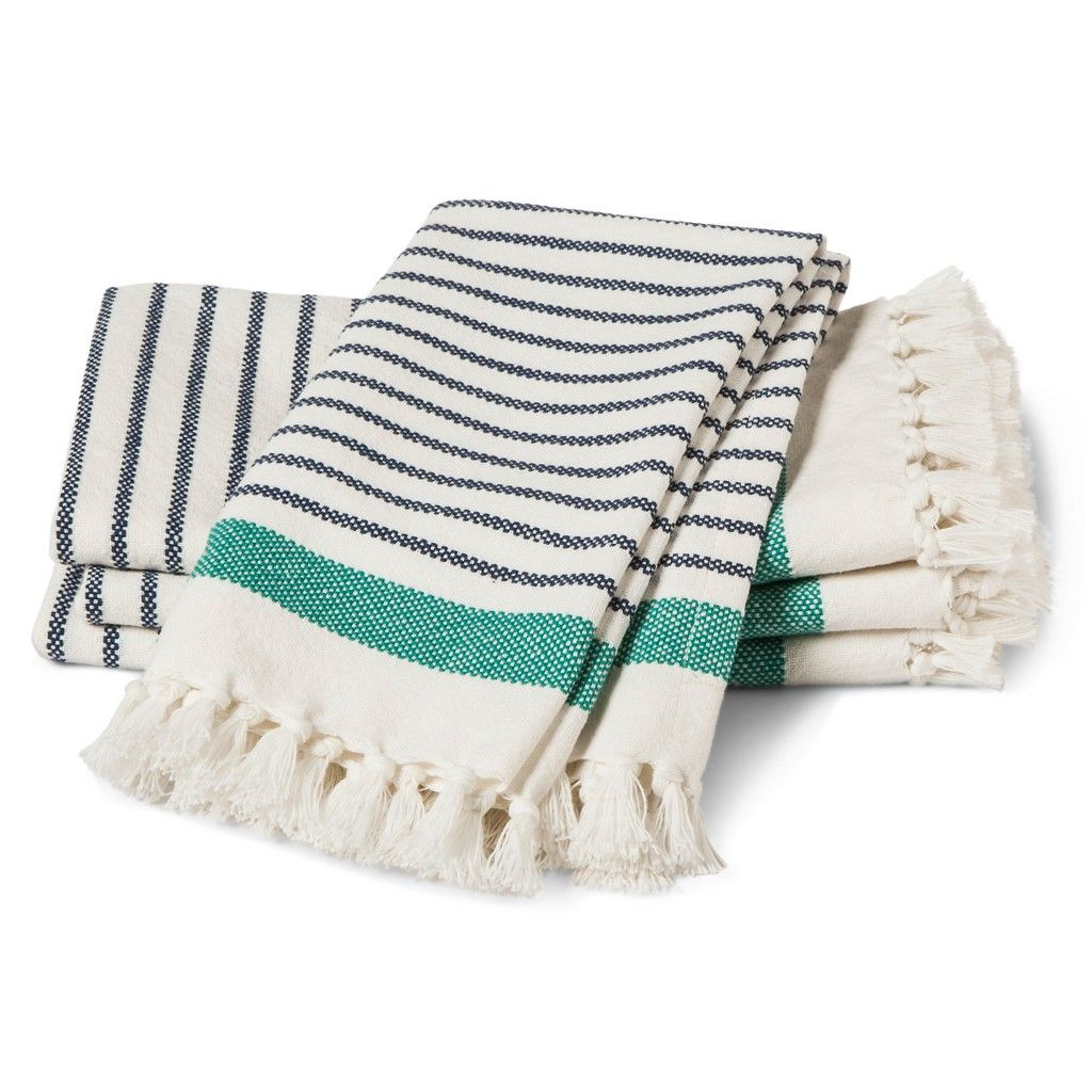 threshold Engineer Stripe Napkins