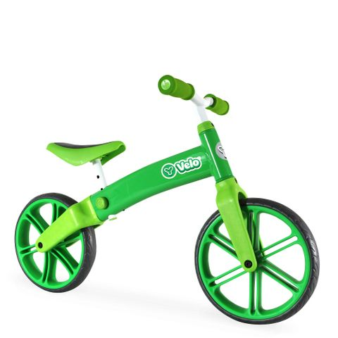 y volution y velo balance bike green