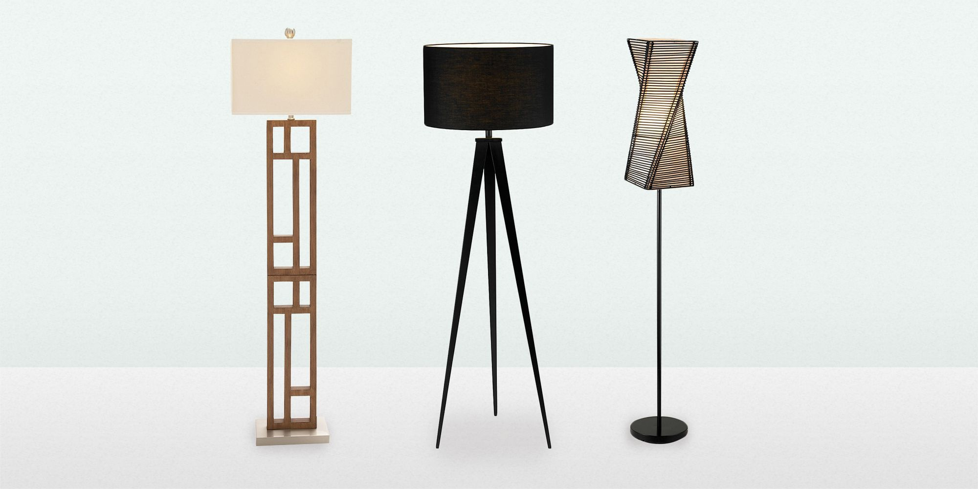 decorative black table and oversized floor modern lamps arc lamp