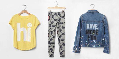 Gap x Ellen Degeneres kids clothes