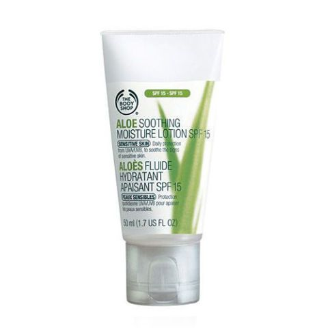 The Body Shop Aloe Vera Soothing Moisture Lotion SPF 15