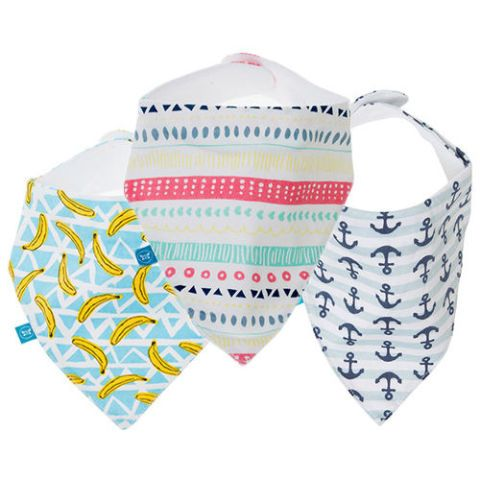 The Honest Company Magnetic Bandana Bibs