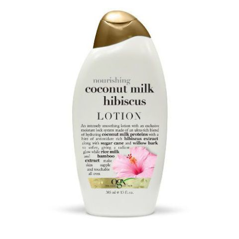 OGX Body Lotion in Nourishing Coconut Milk Hibiscus
