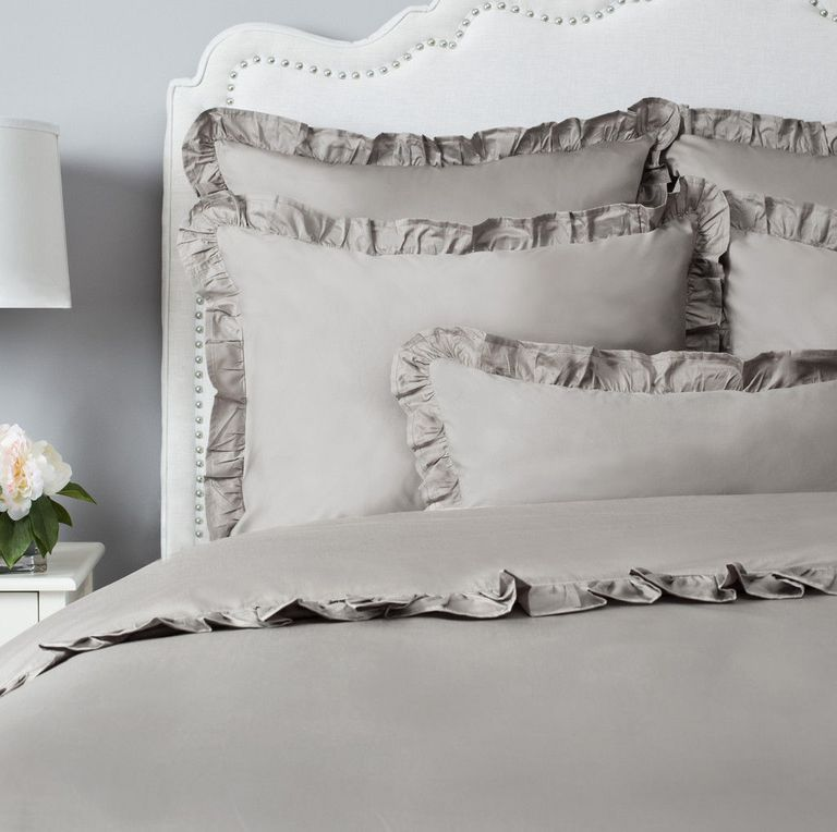 lushdecor bedding set decor lucia king bed comforter products pc gray lush com piece